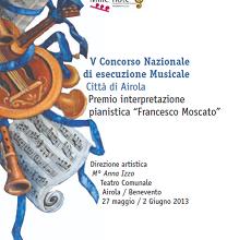 V CONCORSO NAZIONALE DI ESECUZIONE MUSICALE CITTA' DI AIROLA