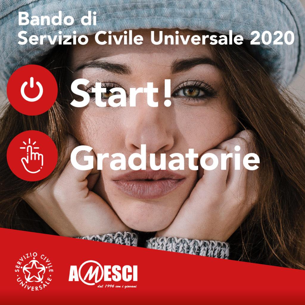Pubblicazione graduatorie Bando Servizio Civile Universale 2020